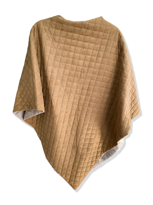 Quilted Poncho