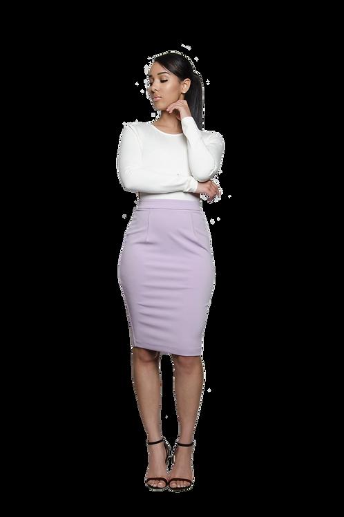 JOAN | Lilac Skirt