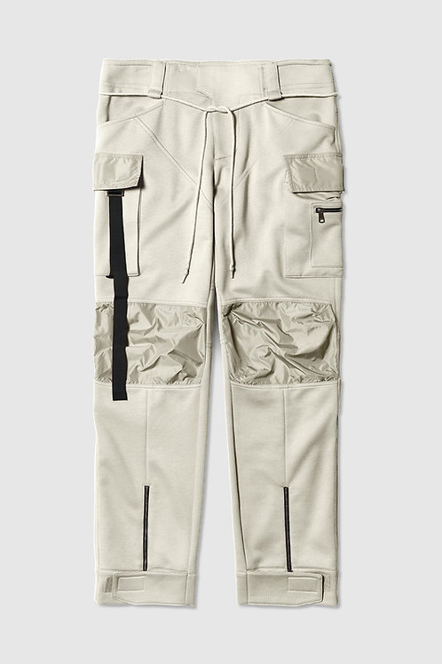 Laced Strapped Cargo in Ivory