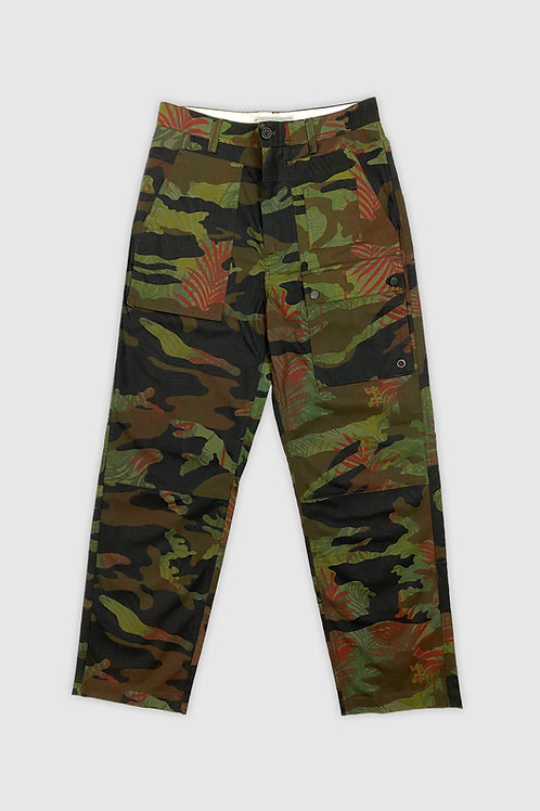 Tropical Camouflage Pants in Green