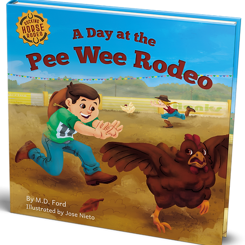 A Day at the Pee Wee Rodeo - EBook