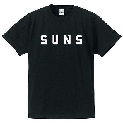 Tシャツ【SUNS】ブラック