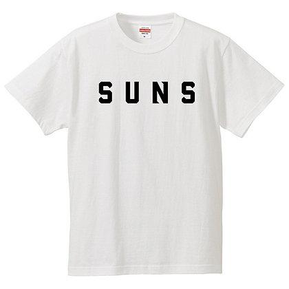 Tシャツ【SUNS】ホワイト