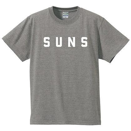 Tシャツ【SUNS】グレー