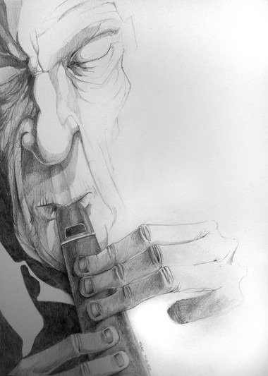 El flautista.