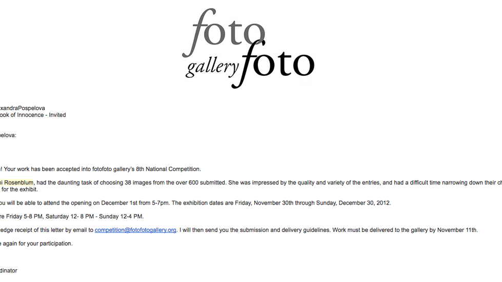 """Prominent Naomi Rosenblum picked """"Why?"""" photograph for 8th National Competition at fotofot"""