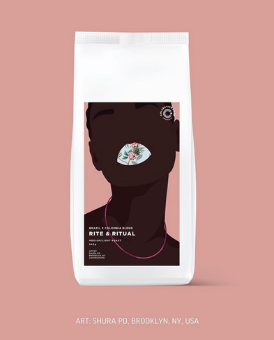 COLLECTIVE ARTS  - coffee label  Collaboration with a brewery based in Hamilton, Ontario.