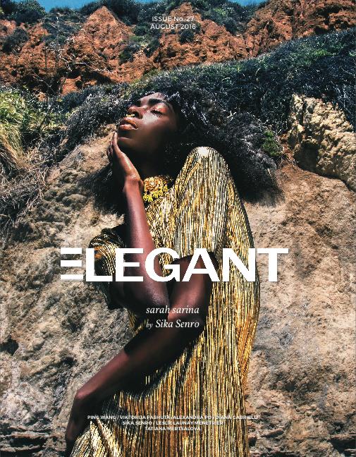 E L E G A N T Magazine. Issue #27. August 2016