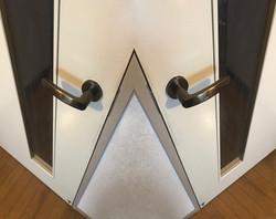 twin door