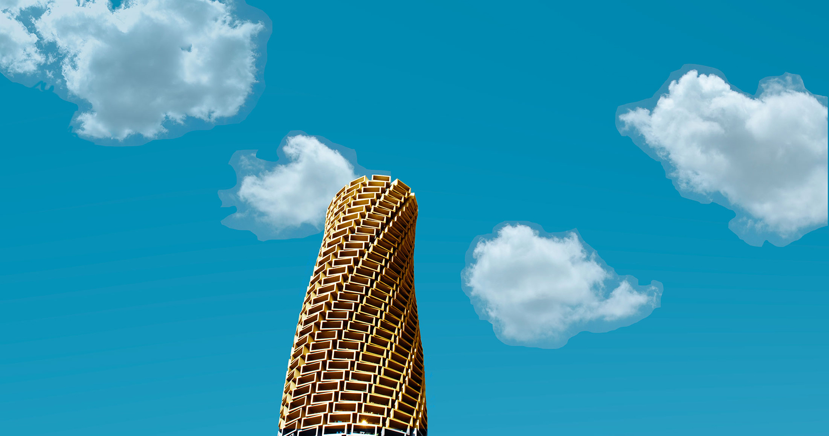 Monument for clouds