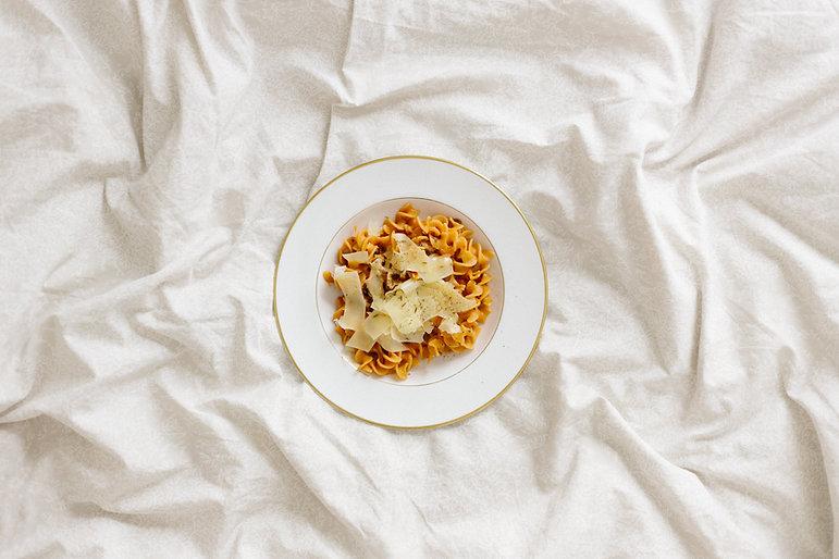 Pasta com Parmesão