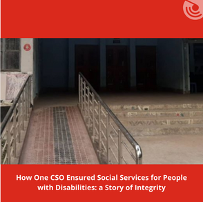 SUCCESS STORY OF A CSO ENSURING SOCIAL SERVICES FOR PEOPLE WITH DISABILITIES