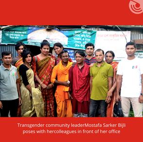 BACHAR ASHA SANGSKRITIK SANGATHAN PROMOTES TRANSGENDER AND COMMUNITY RIGHTS IN RAJSHAHI