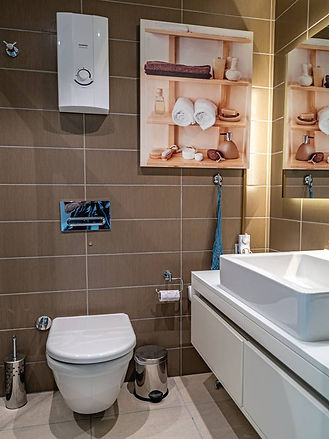 Infrared Heating designs bathroom Side Manavgat Turkey