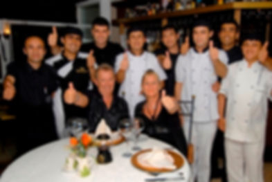 the staff from connys hotel restaurant works already for many years