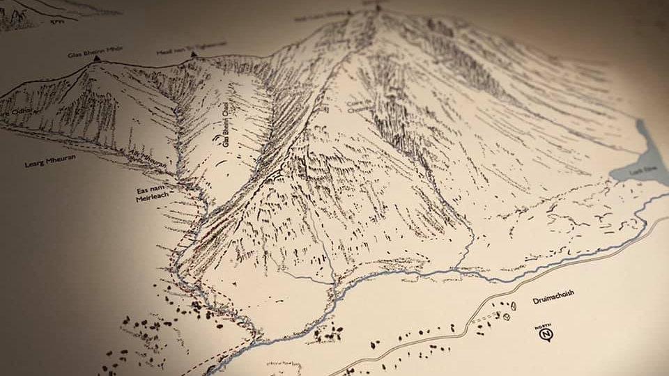 A4 Argyll map prints