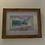 Thumbnail: Kilchurn Castle painted on map framed print