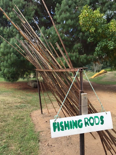 Trout and Salmon Farm Fishing Rods