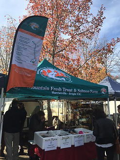 Trout & Salmon Farm Harrietville Farmers Markets