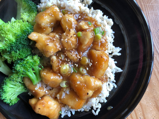 Sesame Chicken- Better Than Take Out