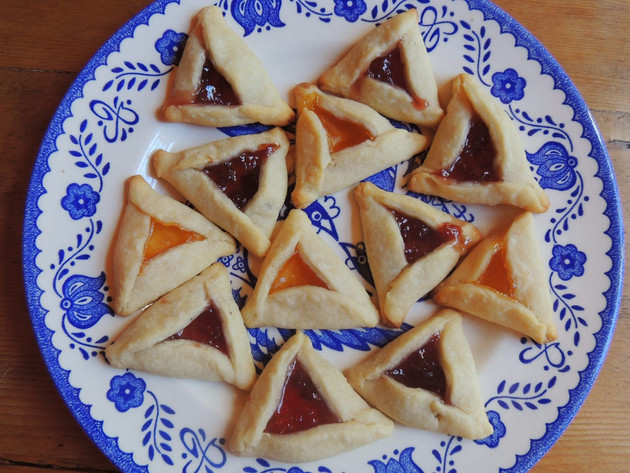 Hamantaschen - A Cookie for Purim