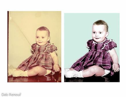 Restored baby picture of the photographer!