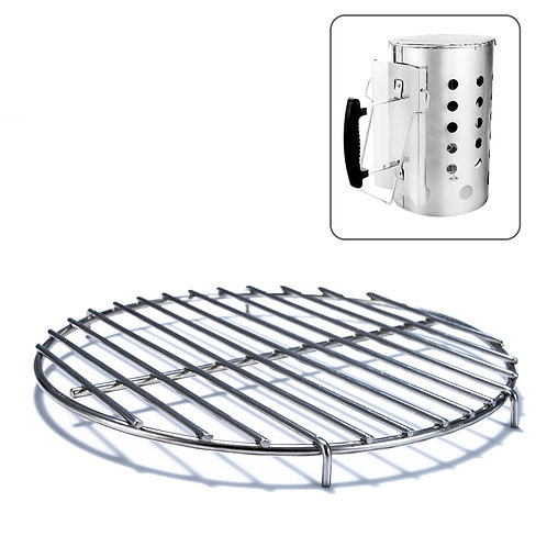Chimney-Mate Charcoal Starter Grill Grate 7.5 Inch