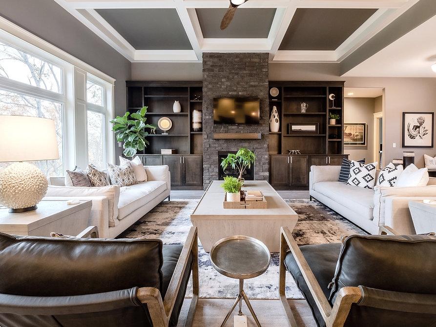 River Parkway Living Room Design