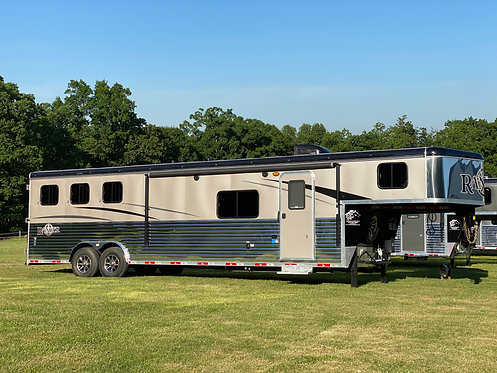 NEW 2020 Bison 3 Horse 14' LQ 8' wide with slide out Stock # 9151