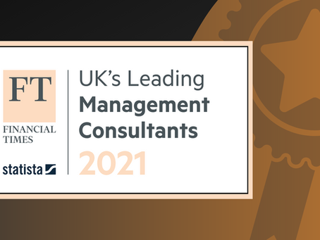 Human Engine Named as a Leading Management Consultancy 2021 by The Financial Times