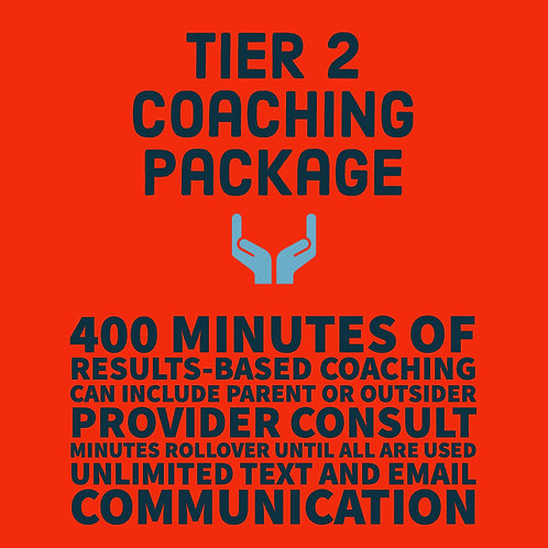 Tier 2 Coaching Package