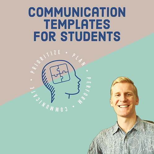 Communication Templates For Students