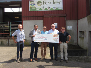 Célébration partenariat FEDER-IRISOLARIS / FEDER-IRISOLARIS partnership celebration