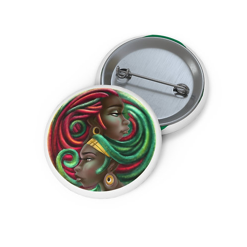 Peace Pin Buttons