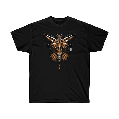 Oh My Black Monarch Butterfly Unisex Ultra Cotton Tee