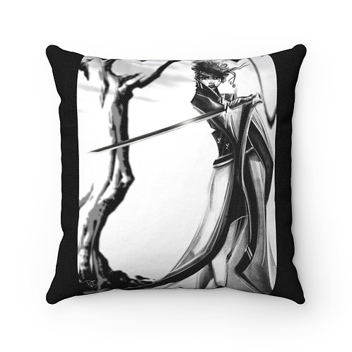 B&W Revenge Spun Polyester Square Pillow