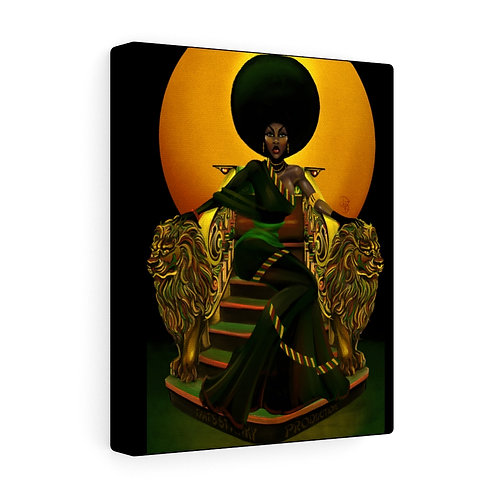 Penny afro-sheen - Canvas Gallery Wrap