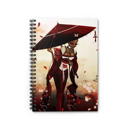 Muse Talk 2- Spiral Notebook - Ruled Line