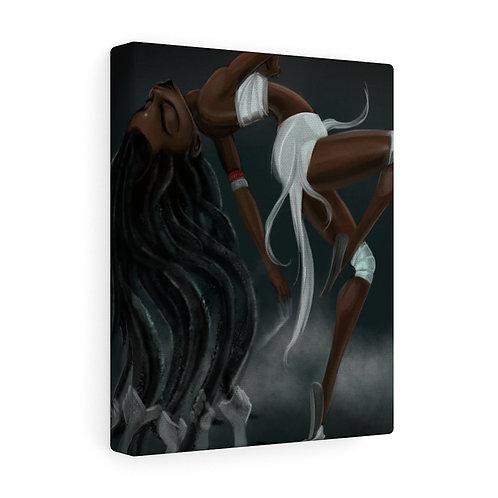 Hair Depression Canvas Gallery Wraps