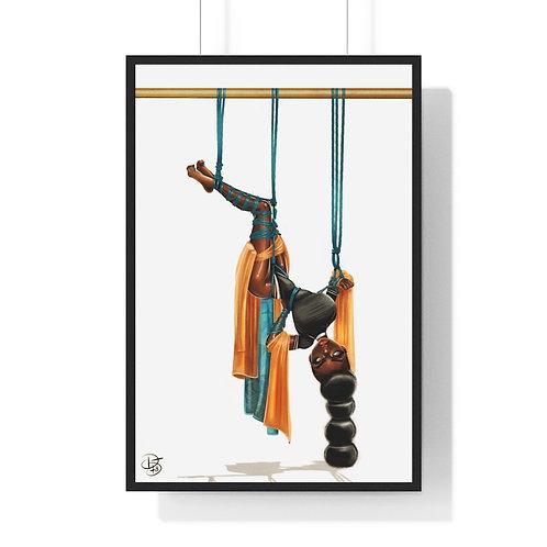 Shibari me 2 Premium Framed Vertical Poster