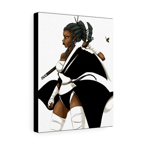 Black Butterfly Canvas Gallery Wrap