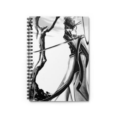 B&W Revenge Spiral Notebook - Ruled Line