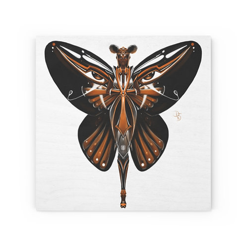 Oh My Monarch Butterfly Wood Canvas