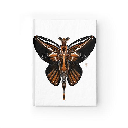 Oh My Black Monarch Butterfly Journal - Blank
