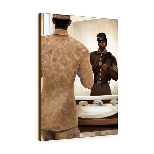 Salute 2 Veterans Day Canvas Gallery Wraps