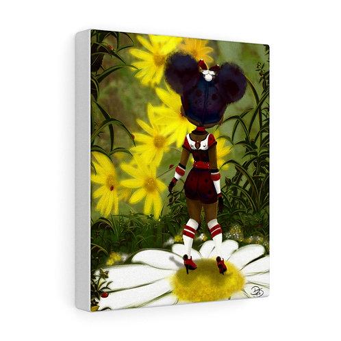 Good Morning LadyBug - Canvas Gallery Wrap