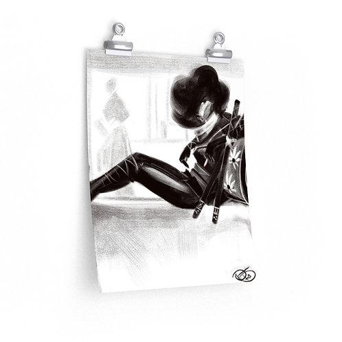 Black Lung 1 Premium Matte vertical posters