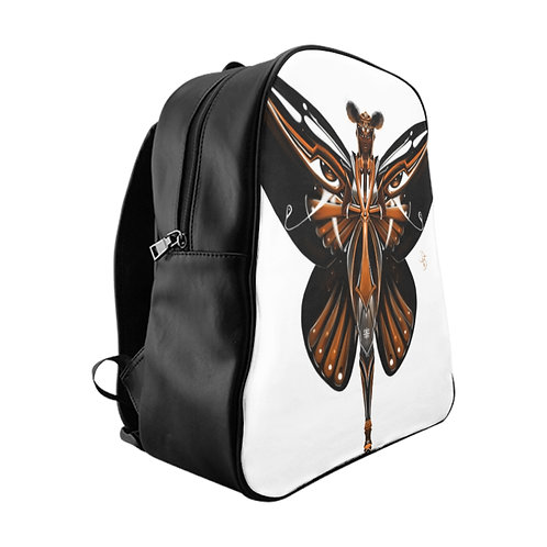 Oh My Monarch Butterfly School Backpack