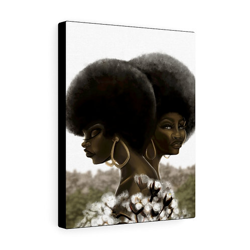 My Cotton Afro - Canvas Gallery Wraps