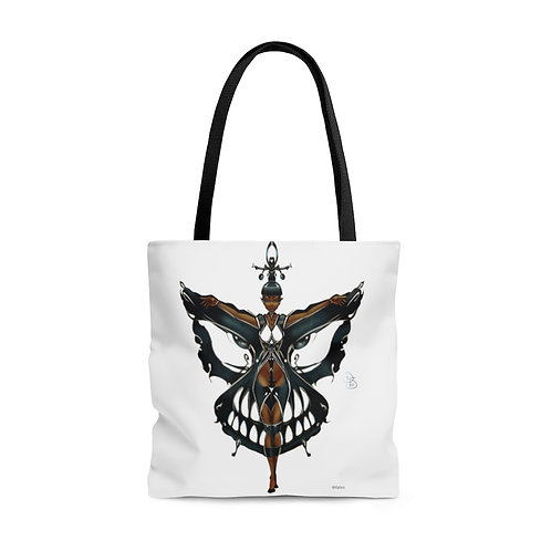 Oh My Black Butterfly Tote Bag
